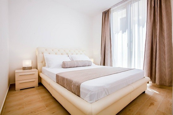 We offer inexpensive accommodation for rent in Rafailovici and Montenegro