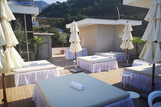 Другие удобства на крыше апарт-отеля